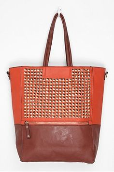 Deena & Ozzy Stud Tote Bag - for your books
