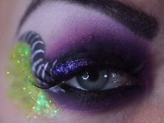 Maleficent Eye Makeup Tutorial (Hmmm, idea for Halloween maybe?)