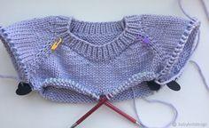 Сегодня мы с вами будем учиться вязать бесшовный свитер с круглой горловиной. В процессе вязания по моему мастер-классу, если у вас появятся замечания или правки, прошу написать мне об этом. Глава 1.