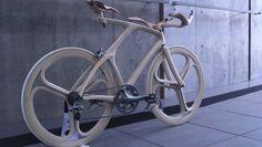 La bici di legno di Yojiro Oshima