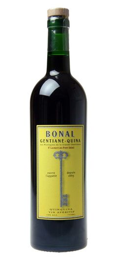 "Bonal Gentiane-Quina, once nicknamed ""ouvre l'appetit"" (the key to the appetite), is a delicious aperitif wine that has been in production since 1865. It is made by infusing gentian root, herbs from the Grande Chartreuse mountains, and cinchona (quinine), in a Mistelle base, producing a wine that is known for its complexity. It is traditionally enjoyed neat, on ice with a twist, or in many classic mixed drinks."
