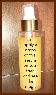 Face Serum For Youthful, Glowing Bright Skin Or Anti-Aging For Oily Skin #oilyskin #glowingskin #antiaging #brightskin #skincare