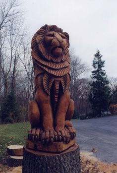 tree carvings | ... | Architectural & Fine Carvings of Distinction by Justin Gordon