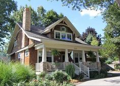 The Arts and Crafts Bungalow | The Red Cottage Floor Plans, Home Designs, Commercial Buildings, Architecture, Custom Plan Design