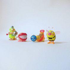 Plastic Wind Up Toys