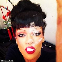 March 23, 2012    Gangsta goth geisha: Rihanna reveals her new look for Coldplay's Princess of China music video    Read more: http://www.dailymail.co.uk/tvshowbiz/article-2119162/Rihanna-reveals-new-look-Coldplays-Princess-China-music-video.html#ixzz1pxfBHOA5