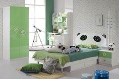 Perfect Tween Girls Bedroom Ideas for Your Kids: Unique Panda Bunk Modern Teen Girls Bedroom Ideas Learning Desk ~ mybutteryfly.com Bedroom Inspiration