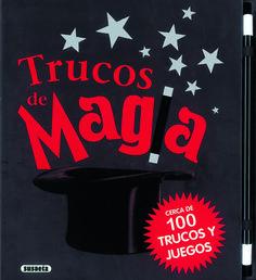 """""""Trucos de magia"""" /  textos, Jon Tremaine ; traducción, Begoña      Loza: Cerca de 100 trucos explicados paso a paso y acompañados de imágenes para que aprendas a hacerlos fácilmente. Incluye una varita mágica para que tu actruación sea perfecta. ¡Sorprende a tus amigos con la magia de este libro!"""