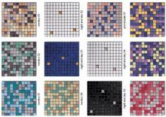 60 colors of mosaic floor tile for a mid-century bathroom - Retro Renovation