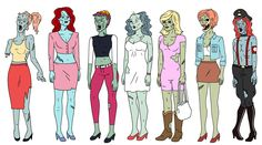 Ugly americans zombies