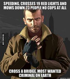 GTA logic go figure