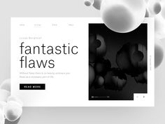 Fantastic Flaws — UI by Lucas Berghoef