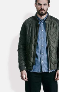 UNFOLD design from WeMoto is a diamond textured bomber silhouette.