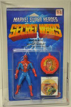 Spider-Man Secret Wars Action Figure