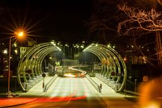 Valmiera bridge by IngusRutulis