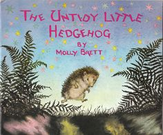 The 'Untidy Hedgehog' by Molly Brett. This is actually a story about our Twinkle.