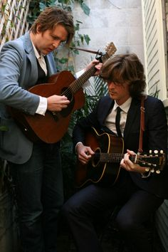 I am smitten with The Milk Carton Kids. Discovered them through watching the movie Promised Land. Their first two albums are available for FREE download!