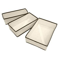 iuhome 3 Piece Foldable Organizer Set