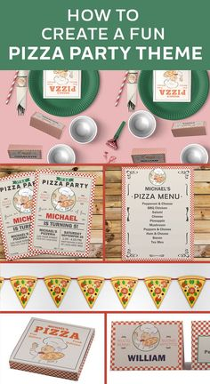 DIY Pizza Party kit.