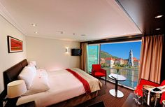 Wish this were your bedroom view? Sigh… only on a river #cruise. http://www.fodors.com/news/story_5509.html