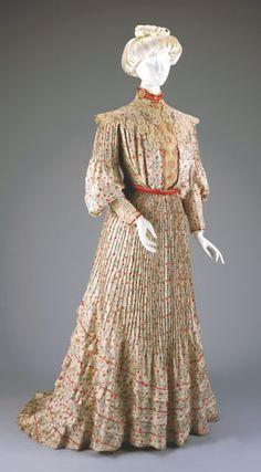 Afternoon dress - bodice and skirt 1901-1902 - Cincinnati Art Museum