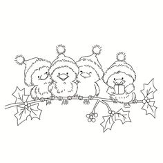 Rubber Silicone Clear Stamps for Scrapbooking Tampons Transparent Seal Background .- Rubber Silicone Clear Stamps for Scrapbooking Tampons Transparent Seal Background Stamp Card Making Christmas Bird – Christmas Bird, Christmas Drawing, Christmas Paintings, Christmas Colors, Christmas Crafts, Colouring Pages, Adult Coloring Pages, Coloring Books, Christmas Coloring Sheets