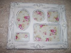 Marco Shabby Chic Estilo Frances Blanco Decape Antiguo