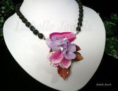 Gioielli con fiori veri natura... @ISABELLEJEWELS.COM