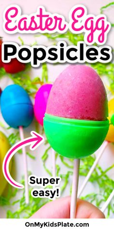 These easy Easter Egg Popsicles are a fun and healthy Easter treat for kids! These easy Easter Egg Popsicles are a fun and healthy Easter treat for kids! Easter Dinner, Easter Brunch, Easter Party, Desserts Ostern, Kid Desserts, Easter Desserts, Smoothie Popsicles, Easter Appetizers, Dinner Recipes Easy Quick