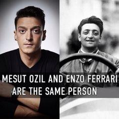 Step one: create luxury car.  Step two: become international footballer.  Mesut Özil