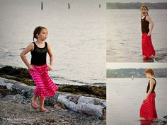 Maxi Skirt for Little Girls