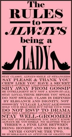 Act Like A Lady
