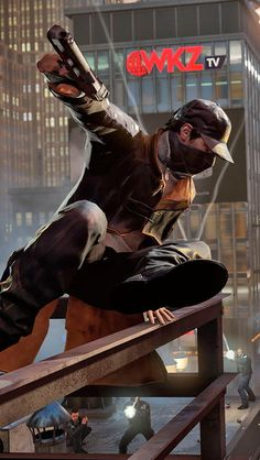 Watch Dogs is only one of many amazing co-op games on Hipster Wallpaper, Dog Wallpaper, Forge Game, Watch Dogs 1, Game Concept Art, Fantasy Warrior, Minimalist Poster, Video Game Art, Dog Pictures