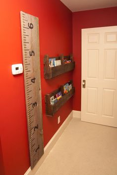 I would love to make this for my sons room as he grows.... Sheet of plywood sanded down and some paint would do