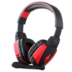 Kotion EACH Stereo Gaming Headphones USB Stereo Headset Headband with Microphone Volume Control LED Light for Phones Gamer Hi Fi Headphones, Usb Microphone, Game Black, Cheap Coach, Audio, Best Laptops, Gaming Headset, Desktop Accessories, Led