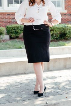 pencil skirts for work || the best pencil skirts for work