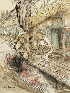 rackham, arthur ~ Wind in the Willows