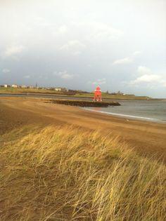 The Groyne at South Shields beach.
