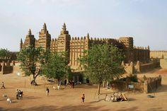 La grande mosquée de Djenné