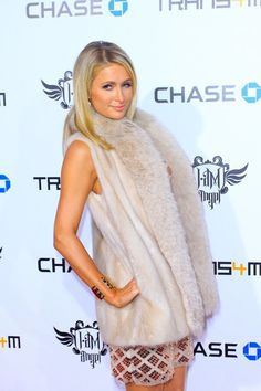 paris hilton hire to attend your party cost black dress lace old 32 birthday