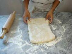 Medialunas Croissant de Manteca y Facturas Primera Parte