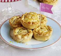 These little chicken pies are fancy enough to hold court at your next tea party