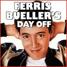 Ferris Bueller's Day Off Movie (1986)  Matthew Broderick actor  he skipped school one day