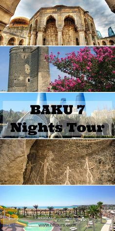 Baku - Azerbaijan 7 Nights Tour Package #azerbaijan #baku