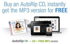 AMAZON AUTORIP ALLOWS USERS TO DOWNLOAD FREE DIGITAL COPIES OF CDS THEY HAVE PURCHASED DATING BACK TO 1998  Posted on Jan 12, 2013    The battle for music selling supremacy has never been tougher at the top with a number of large profile outlets all vying against one another to capture the hearts, and of course the wallets, of consumers. It wasn't that long ago when we all happily amassed huge collections of music on physical storage mediums like CDs, but times have changed ...