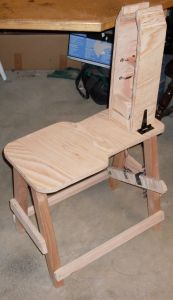 Stitching Pony DIY    Completed Horse - side
