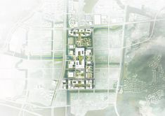 Image 6 of 8 from gallery of HENN Designs Sino-French Aeronautics Campus in China. Photograph by HENN School Floor Plan, Plot Plan, French Government, China Image, Hangzhou, Thessaloniki, Master Plan, Secondary School, World Heritage Sites