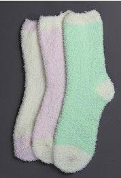 Creamy Ankle Socks #Chicwish