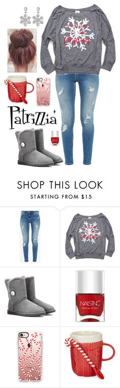 Patrizzia18.12.2016a by patrizzia on Polyvore featuring moda, Ted Baker, UGG, Casetify, Nails Inc. and Two's Company