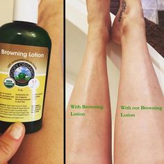 BROWNING LOTION~ NOT a Self Tanner. Use when you go outside. #SUMMER #TAN #HEALTHYSKIN #TOXICFREE #VEGAN #CRUNCHYMOMS #ORGANIC #MADEINTHEUSA https://gopure.poofyorganics.com